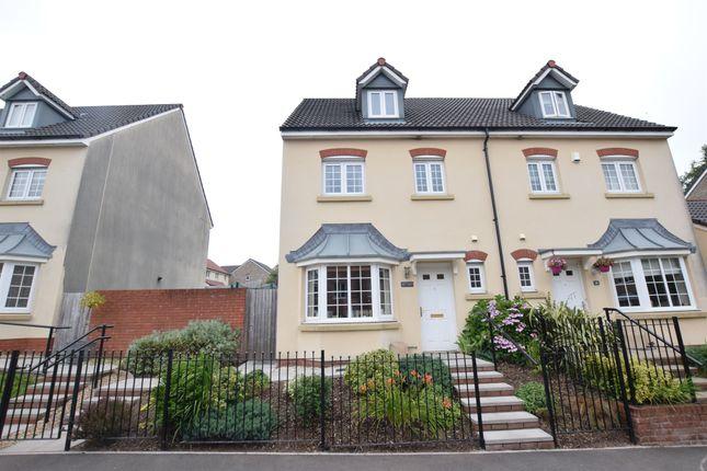 Thumbnail Town house for sale in Tirfilkins Close, Pontllanfraith, Blackwood