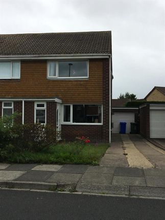 Thumbnail Semi-detached house to rent in Curlew Way, Blyth