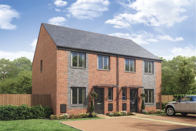 """Thumbnail Semi-detached house for sale in """"The Rochester"""" at Whinney Hill, Durham"""
