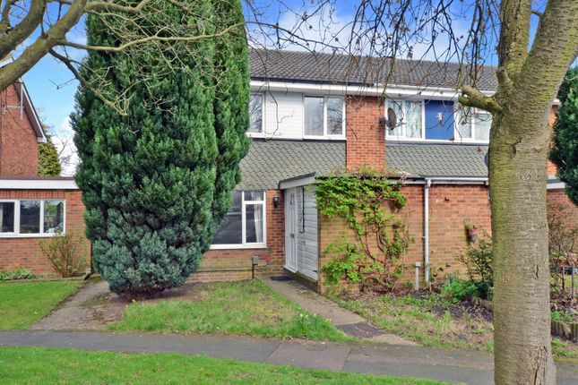 Thumbnail End terrace house to rent in Wey Close, Camberley