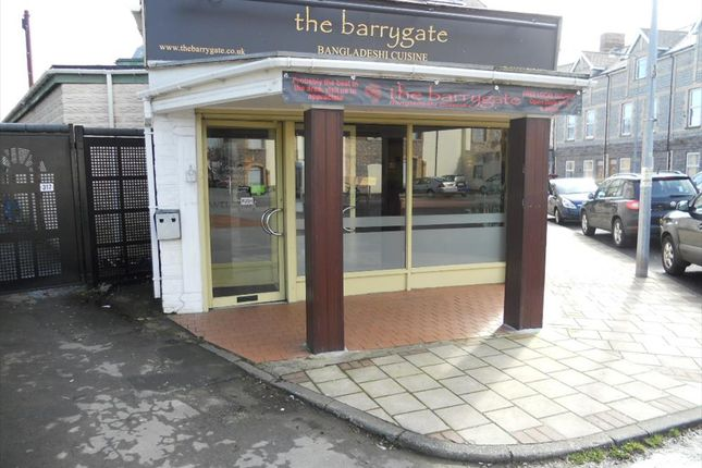 Thumbnail Restaurant/cafe for sale in Main Street, Barry