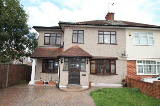 Thumbnail Semi-detached house to rent in Bradenham Road, Hayes, Middlesex