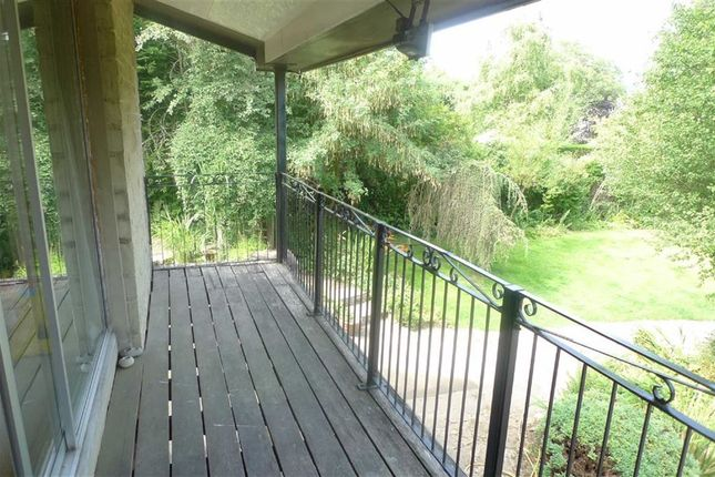Covered Balcony of Bishops Lane, Buxton, Derbyshire SK17