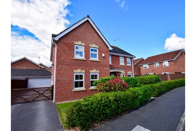 Thumbnail Detached house for sale in Millfield, Neston