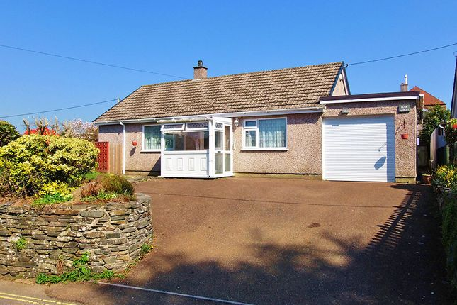 Thumbnail Detached bungalow to rent in St Germans Road, Callington