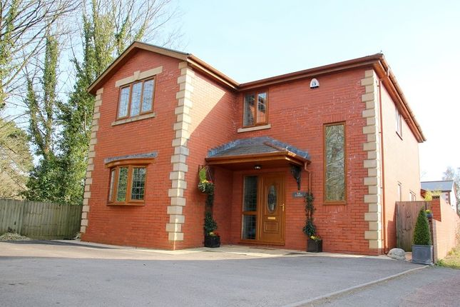 Thumbnail Detached house to rent in Station Road, Creigiau, Cardiff.