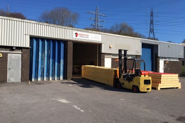 Thumbnail Industrial to let in Unit J6, Gellihirion Industrial Estate, Rhydyfelin, Pontypridd