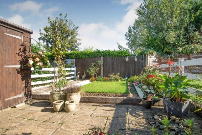Garden of Kelvin Close, Epsom, Surrey, . KT19