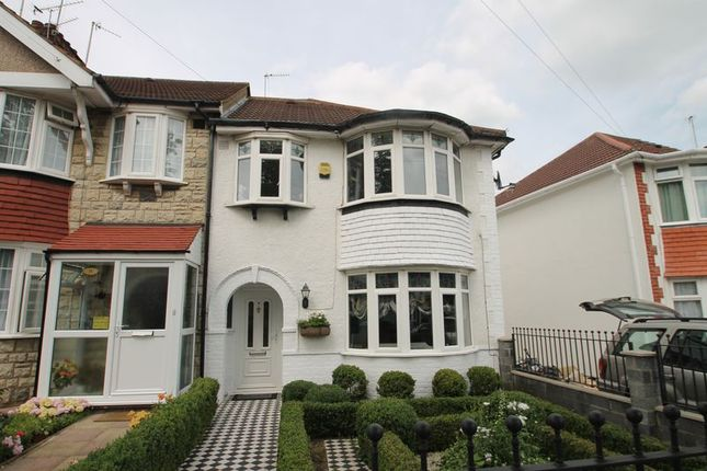 3 bed terraced house for sale in Currey Road, Greenford