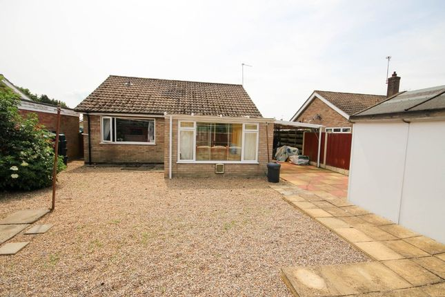 Thumbnail Detached bungalow for sale in Willows Court, Martham, Great Yarmouth