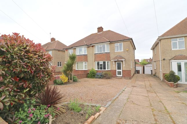Thumbnail Semi-detached house for sale in Downsview Road, Eastbourne