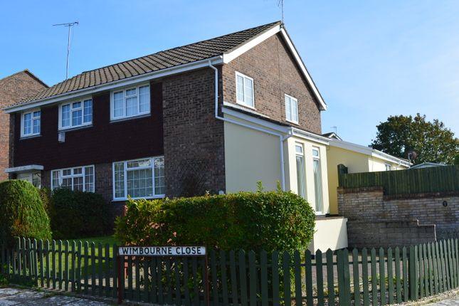 Semi-detached house for sale in Wimbourne Close, Llantwit Major