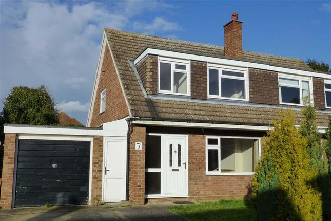 Thumbnail Semi-detached house to rent in Southland Rise, Langford, Biggleswade
