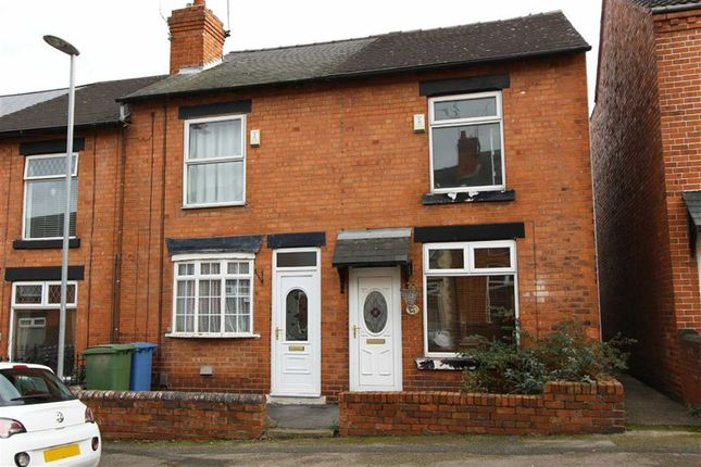 Thumbnail Terraced house to rent in Albion Street, Mansfield, Nottinghamshire