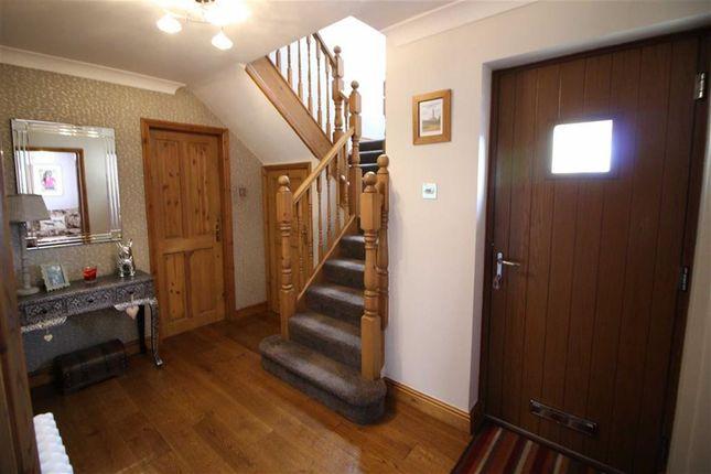 Entrance Hallway of Sheldon Gardens, Crich, Matlock DE4