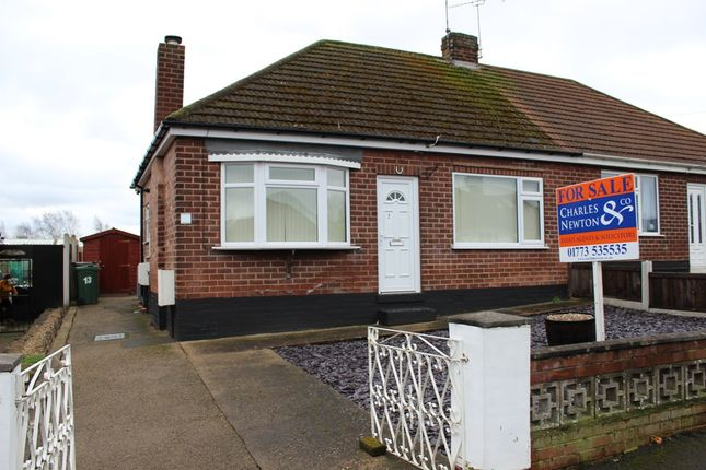Thumbnail Semi-detached bungalow for sale in Argyle Street, Langley Mill