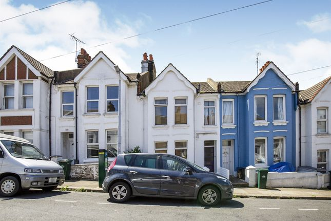 Thumbnail Terraced house for sale in Franklin Road, Brighton
