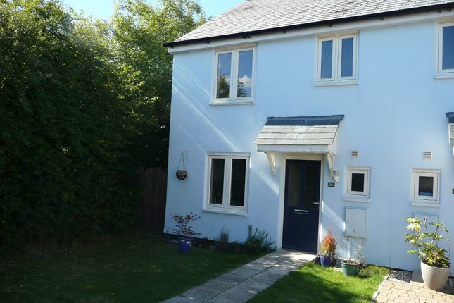 Thumbnail Semi-detached house to rent in Greenhill Road, Plymouth