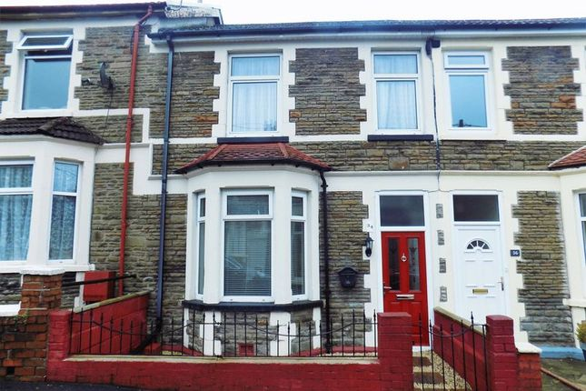Thumbnail Terraced house for sale in Ludlow Street, Caerphilly