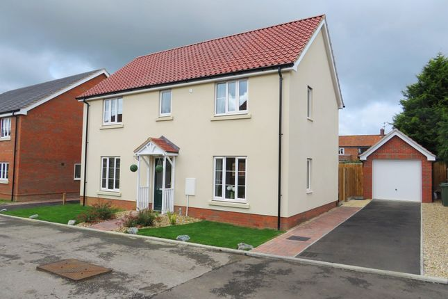 Thumbnail Detached house for sale in Burghwood Yard, Mileham, King's Lynn