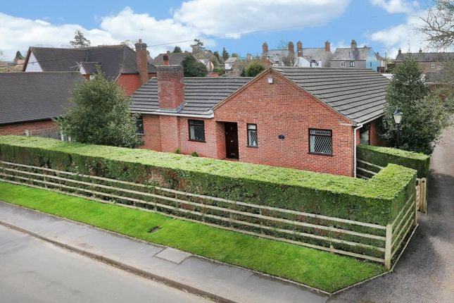 Thumbnail Detached bungalow for sale in Old Forge Road, Ashby Magna, Lutterworth