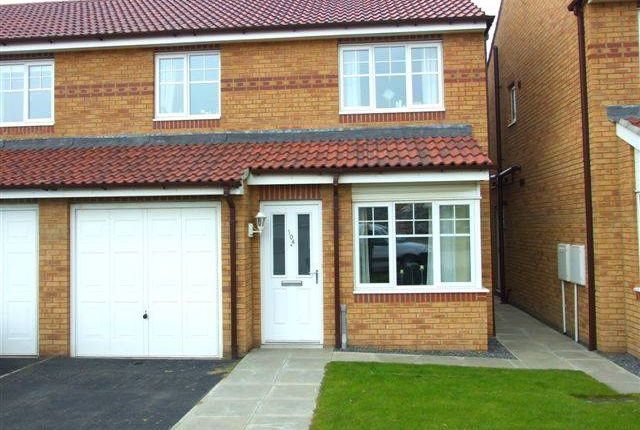 Thumbnail Property to rent in Haydon Drive, Hadrian Village, Willington Quay