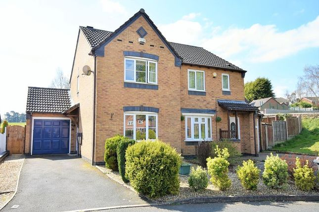 Semi-detached house for sale in St. Marks Drive, Wellington, Telford