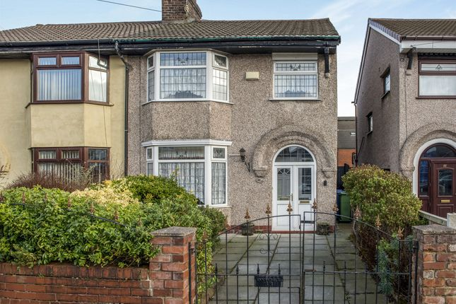 Thumbnail Semi-detached house for sale in Wavertree Nook Road, Wavertree, Liverpool