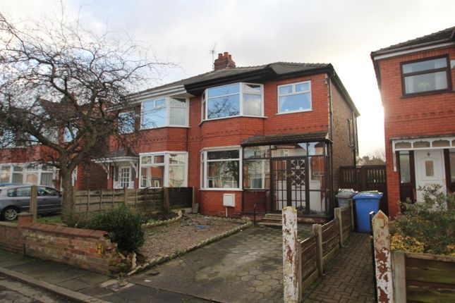 3 bed semi-detached house for sale in Marlborough Road, Stretford, Manchester