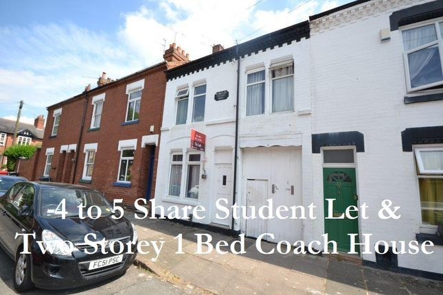 Thumbnail Terraced house for sale in Edward Road, Leicester