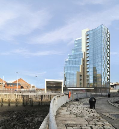 Thumbnail Flat for sale in Herculaneum Quay - Riverside Drive, Liverpool