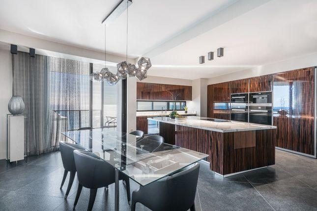 Kitchen & Dining Area - Apt 1601 - Porsche Design Tower Miami