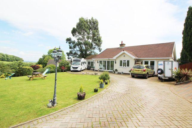 Thumbnail Detached bungalow for sale in Court Rise, Llanddewi Rhydderch, Abergavenny