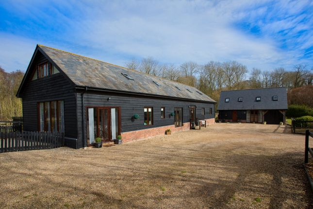 Thumbnail Detached house for sale in Suffolk, Great Finborough, Near Stowmarket Equestrian