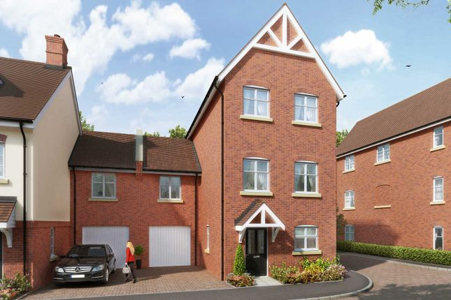 """Thumbnail Terraced house for sale in """"The Lambton"""" at The Ridgeway, Enfield"""