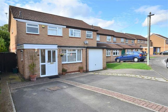 Thumbnail Semi-detached house for sale in Rosemary Close, Abbeydale, Gloucester
