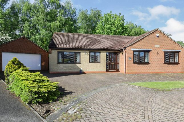 Thumbnail Detached bungalow for sale in Kingfisher Close, Scunthorpe