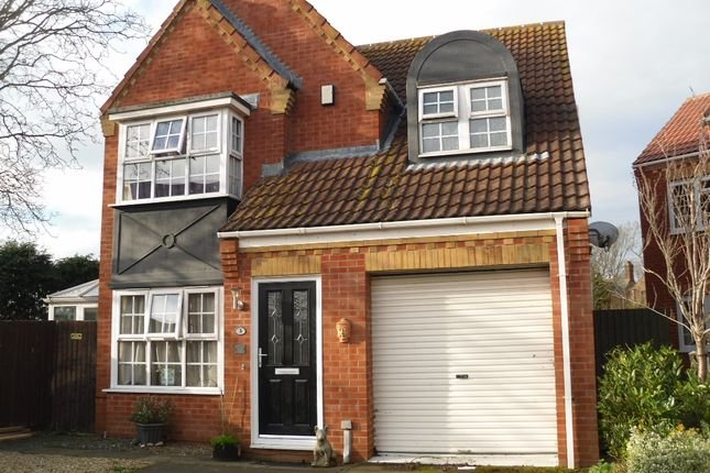 Thumbnail Terraced house for sale in Hannington Close, Whittlesey