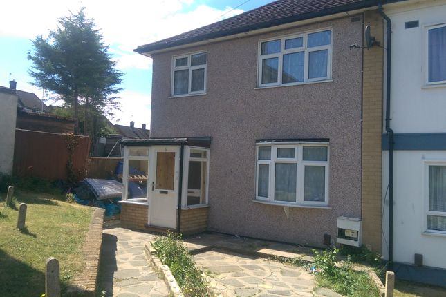 Thumbnail 3 bedroom terraced house to rent in Newbury Close, Harold Hill