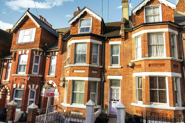 Thumbnail Maisonette for sale in Milward Road, Hastings