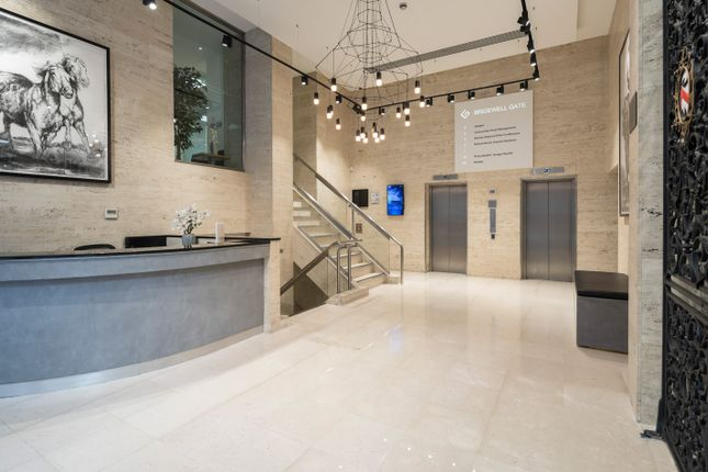 Reception of 9 Bridewell Place, London EC4V