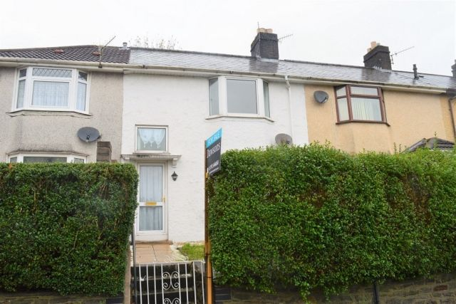 Thumbnail Terraced house to rent in St Johns Road, Manselton, Swansea.