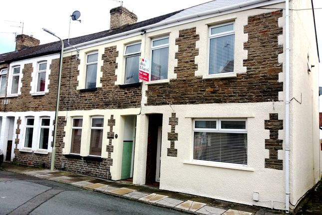 Thumbnail End terrace house for sale in Church Street, Taffs Well, Cardiff