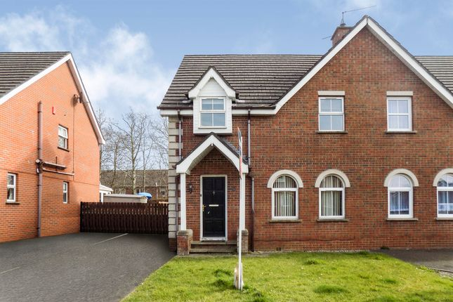 Thumbnail Semi-detached house to rent in The Paddock, Ballinderry Upper, Lisburn
