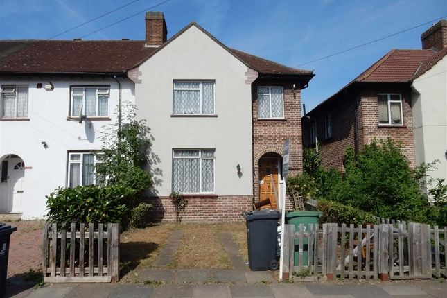Thumbnail End terrace house for sale in Dane Road, Southall, Middlesex