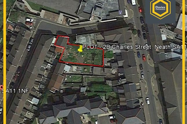 Thumbnail Land for sale in Workshop/Plot 2B, Charles Street, Neath