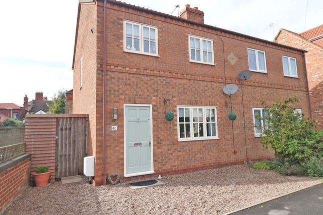 Thumbnail Semi-detached house for sale in Fieldside, Crowle, Scunthorpe