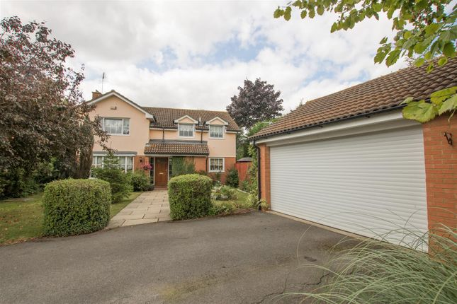 Thumbnail Detached house for sale in Elsmore Close, Wendover Park, Aylesbury