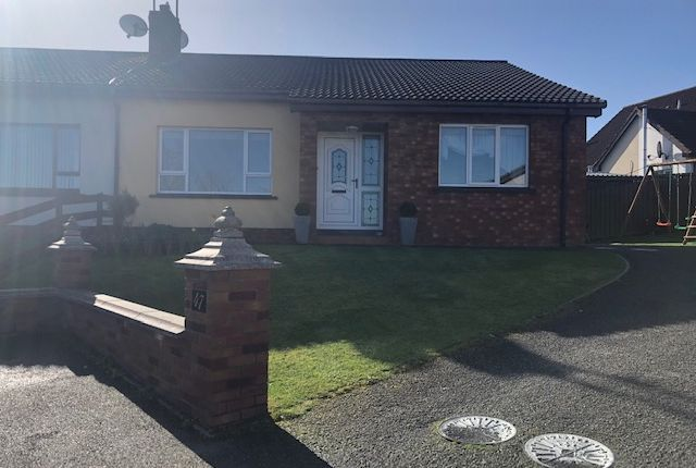 Thumbnail Semi-detached bungalow for sale in 47 Archdale, Bessbrook