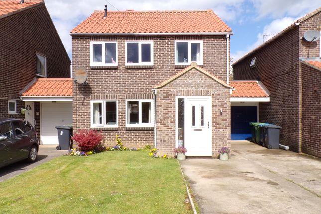 Thumbnail Link-detached house for sale in Hazel Court, Aiskew, Bedale